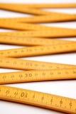 Folding ruler stock photography
