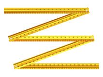Folding ruler Stock Image