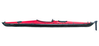 Folding sea kayak isolated Stock Photography