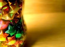 Folding stars. In  a bottler Stock Image
