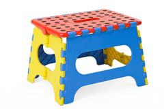 Folding stool Royalty Free Stock Photos