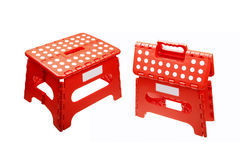 Folding stool Stock Image