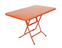 Folding table Stock Photos