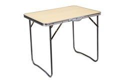Folding Table Stock Image