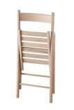 Folding wooden chair Stock Photography