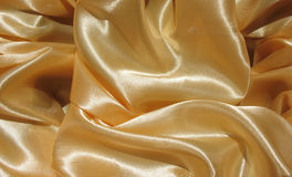 The folds of silk fabric Stock Photos