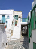 folegandros希腊海岛 库存照片