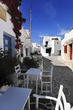 Folegandros海岛,希腊 库存图片