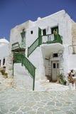 Folegandros - Castel Royalty Free Stock Image