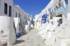 Folegandros Castle Stock Photography