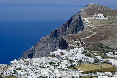 Folegandros Chora Royalty Free Stock Photography
