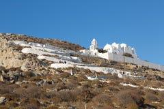Folegandros Chora Church Royalty Free Stock Images