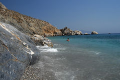 Folegandros - Cycklades - Grecia Foto de archivo