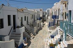 Folegandros - Cycklades - Grekland Arkivbilder