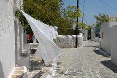 Folegandros - Cyclades - Grekland Arkivbilder
