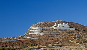 Folegandros Island Church Stock Photography