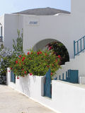 Folegandros island, Greece. Rooms to let, at a traditional house in Folegandros island, Greece Stock Photo