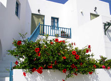 Folegandros island, Greece. Traditional house in Folegandros island, Greece Stock Photography