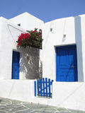 Folegandros island, Greece. Traditional house in Folegandros island, Greece Stock Photos