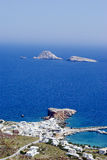 Folegandros Karavostasi Stock Photo