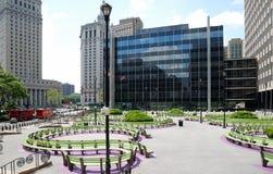 foley новый квадратный york города Стоковые Фотографии RF