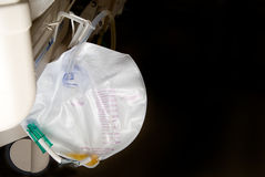 Foley Bag. A medical Foley Bag for the collection of urine Royalty Free Stock Image