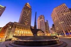 Foley kwadrat Manhattan Zdjęcie Royalty Free