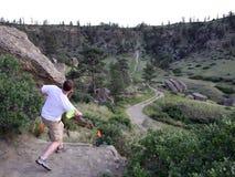 folf γκολφ frisbee στοκ φωτογραφίες με δικαίωμα ελεύθερης χρήσης