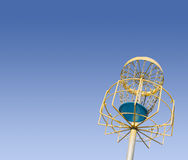 folf γκολφ frisbee Στοκ Φωτογραφίες