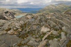 Folgefonna Gletscheransicht Stockbild