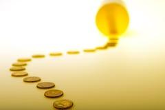 Folgen Sie dem Geld 2 Stockbilder