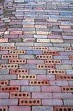 Folgen Sie der Ziegelstein-Straße Lizenzfreie Stockbilder