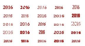 Folgendes neues Jahr vektor abbildung
