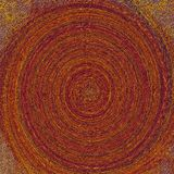 folha 3D gravada na superfície desigual áspera para o fundo criativo Folha pastel do tema ilustração stock