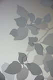 Folha da sombra ilustração stock