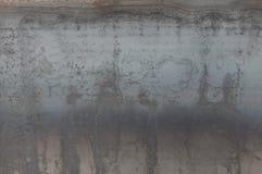 Folha da textura do ferro com um superaquecimento, traços de oxidação imagens de stock royalty free