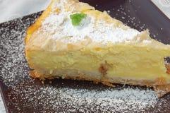 Folha da torta e bolo do iogurte Imagem de Stock