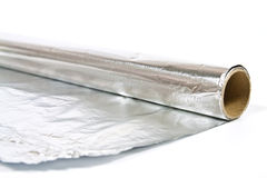 Folha de alumínio Imagens de Stock Royalty Free