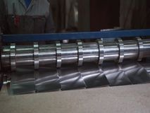 Folha de alumínio e máquina de corte de alumínio Fábrica video estoque