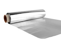 Folha de alumínio Fotografia de Stock Royalty Free