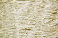 Folha de cama enrugada Imagens de Stock Royalty Free