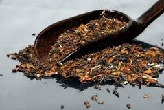Folha de chá chinesa imagens de stock