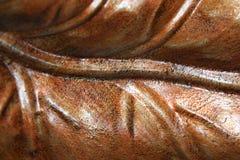 Folha de cobre do metal Imagens de Stock Royalty Free