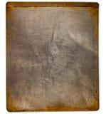 Folha de cozimento suja usada para um fundo fotografia de stock royalty free