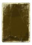 Folha de Grunge de um papel ilustração royalty free