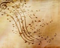 Folha de música Fotografia de Stock Royalty Free