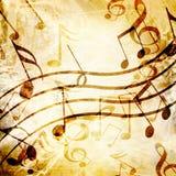 Folha de música Imagem de Stock