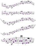 Folha de música Imagens de Stock