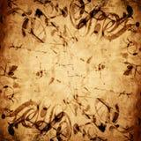 Folha de música velha ilustração royalty free