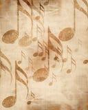 Folha de música velha fotografia de stock royalty free